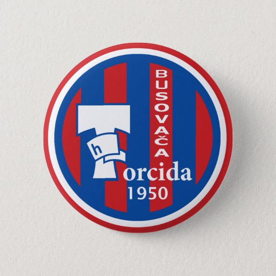 Abzeichen Torcida Busovača Runder Button 5,7 Cm