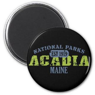 Acadia-Nationalpark Runder Magnet 5,1 Cm