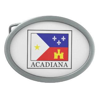 Acadiana Ovale Gürtelschnallen