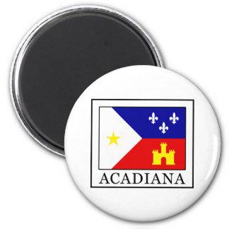 Acadiana Runder Magnet 5,1 Cm