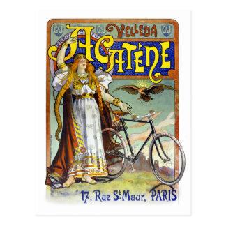 Acatène Velleda französisches Vintages Postkarten
