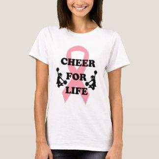 Acclamation pour le T-shirt de cancer du sein de