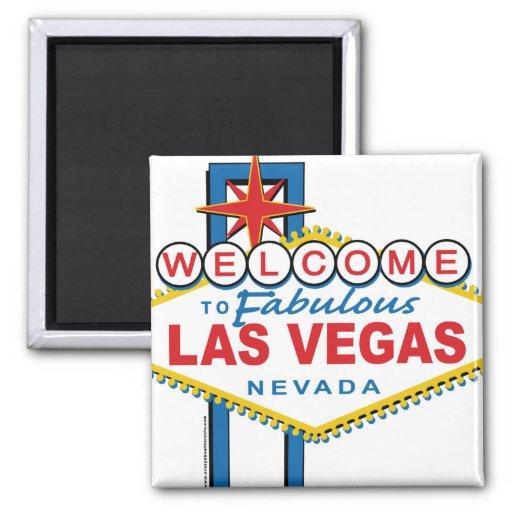 Accueil-à-Las-Vegas Magnets Pour Réfrigérateur