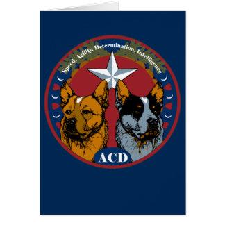 ACD: Geschwindigkeit, Agility, Entschlossenheit, Karte