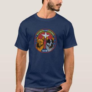 ACD: Geschwindigkeit, Agility, Entschlossenheit, T-Shirt