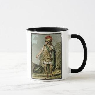 Achilleus in der Rüstung, Kostüm für 'Iphigenia in Tasse