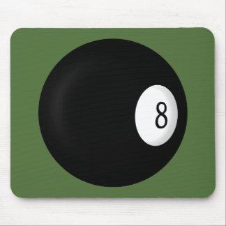 Acht Ball-Billard Mauspads