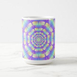 Achteckige Tunnel-Tasse Kaffeetasse