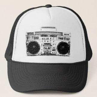 Achtzigerjahre Boombox Truckerkappe