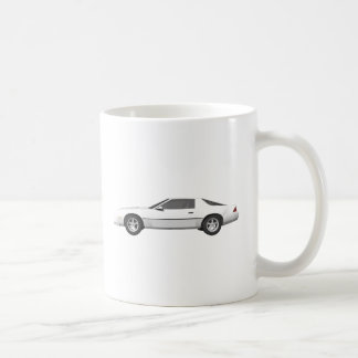 Achtzigerjahre Camaro Sport-Auto: Modell 3D: Kaffeetasse