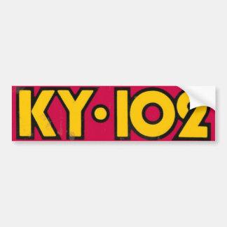 Achtzigerjahre der alte Schule KY102 Autoaufkleber