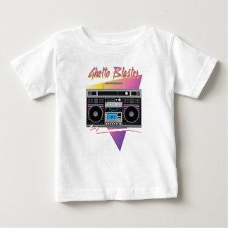 Achtzigerjahre Getto-Bläser boombox Baby T-shirt