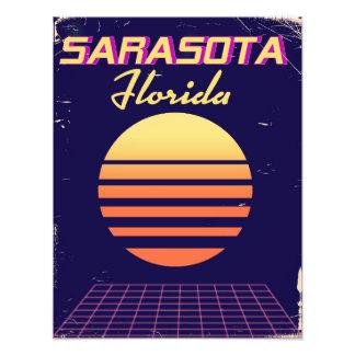 Achtzigerjahre Sarasota Florida Vintager Fotodruck