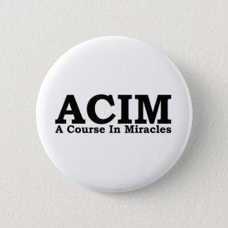 ACIM ein Kurs im Wunder-T-Shirt Runder Button 5,7 Cm