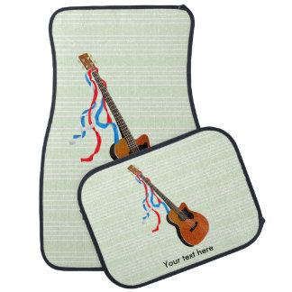 Acoutic Bass-Gitarren-Musik-Muster Automatte
