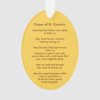 Acryl St Dominic de Guzman (P.M. 02) Ornament