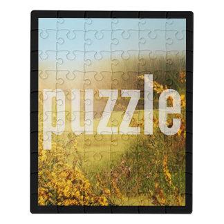 Acrylvertikale-geeignete Schablone des Puzzle