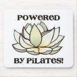 Actionné par Pilates Lotus Tapis De Souris