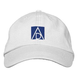 ADAA Schüler-Kappenweiß/-BLAU Bestickte Kappe