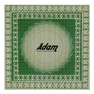 Adam Personalisierte Einladungen