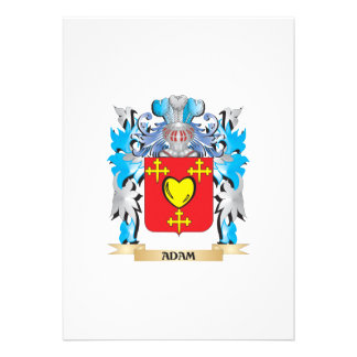 Adam-Wappen Einladungskarten