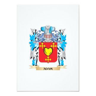Adam-Wappen 12,7 X 17,8 Cm Einladungskarte