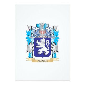 Adame Wappen 12,7 X 17,8 Cm Einladungskarte