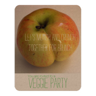 ADAMS APPLE - Veggie-Party Einladung