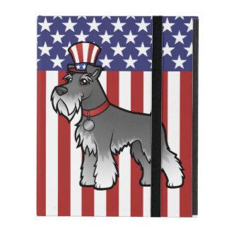 Addieren Sie Ihr eigenes Haustier und Flagge iPad Etuis