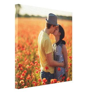 Addieren Sie Ihr Foto-kundenspezifisches Leinwanddruck