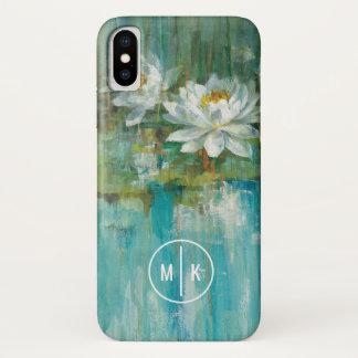 Addieren Sie Ihren Wasser-Lilien-Teich des iPhone X Hülle