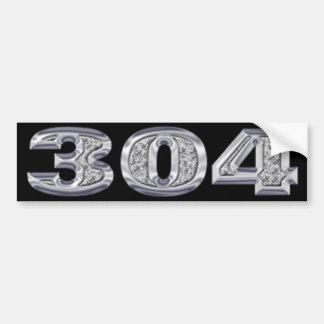 Adhésif pour pare-chocs 304 autocollant de voiture