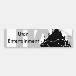 Adhésif pour pare-chocs de divertissement d'Utan Autocollant De Voiture