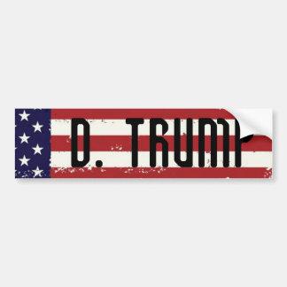 Adhésif pour pare-chocs de drapeau américain de autocollant de voiture