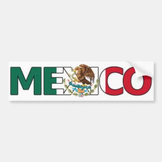 Adhésif pour pare-chocs du Mexique Autocollant De Voiture