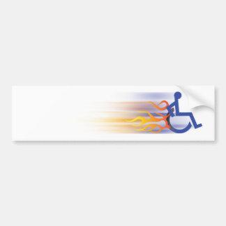 Adhésif pour pare-chocs rapide de chaise autocollant de voiture