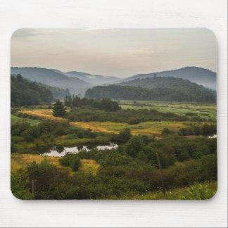 Adirondack Berge - Nebel - New York - Sumpf-Land Mauspads
