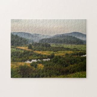 Adirondack Berge - nebelig - Sumpf-Land