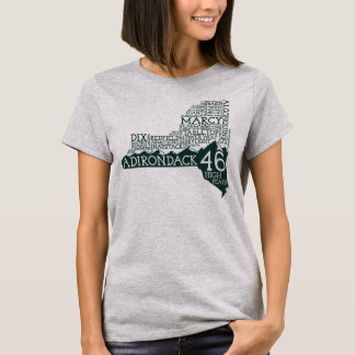 Adirondack der T - Shirt der hohe Spitzen-Frauen