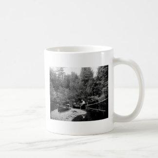 Adirondack Kanu-Fischen Kaffeetasse