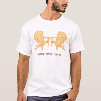 Adirondack sitzt T - Shirt vor