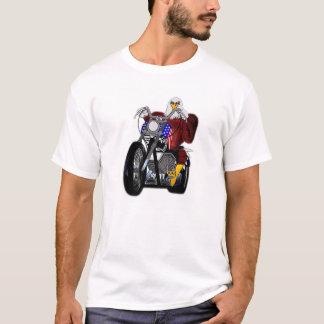 Adler/Chopper/Doppelturm V-Doppel T-Shirt