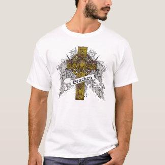 Adlerfarntartan-Kreuz T-Shirt