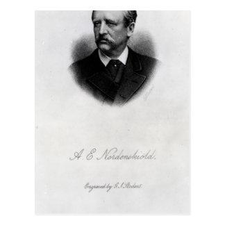 Adolf Erik Nordenskiold, 1880 Postkarte