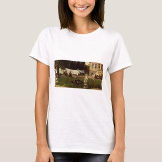 Adolf Menzel - Gartenszene T-Shirt