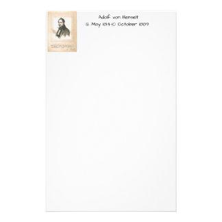 Adolf von Henselt Briefpapier