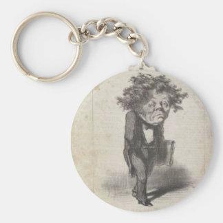 Adolphe Cremieux durch Honore Daumier Schlüsselanhänger