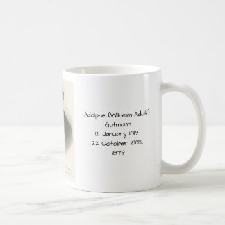 Adolphe (Wilhelm Adolf) Gutmann Kaffeetasse