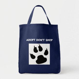 Adopt kaufen nicht Taschen-Tasche Tragetasche