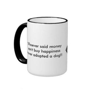 Adoptieren Sie einen Hund Ringer Tasse